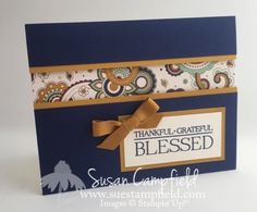 Petals and Paisleys Recessed Panel Card - 2