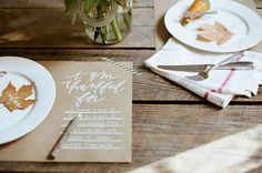 Thankful For... Placemats