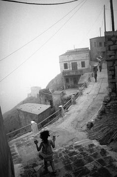 by Nikos Economopoulos, Olympos village, Greece, 1989 Photography Workshops, Photography Projects, Photography Photos, Street Photography, Black White Photos, Black And White, Cyprus Greece, Karpathos, Greek History