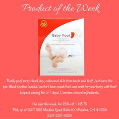Must have product for summer! Available at DSC! On sale this week! #babyfoot