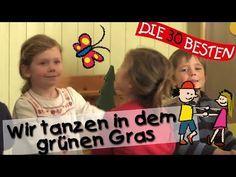 Wir tanzen in dem grünen Gras - Singen, Tanzen und Bewegen || Kinderlieder - YouTube