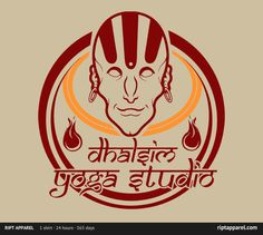 """""""Yoga Calm"""" by TeeKetch Illustration T-Shirt for sale only on March 28th, 2012 $10 www.riptapparel.com"""