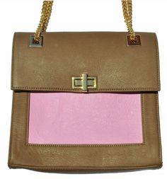 Jabiru Pink #handbags #pastels #leather #unique #designer #volaga #summer #collection #fashion #accessories #pink