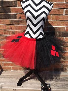 Teen/Adult Harley Quinn/Jester tutu. Available in by LisasTutus