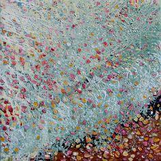 il trionfo. Agata Bulla olio su tela110x110 cm Catalogo galleria LIBRA, apparenze costruite a cura di V. Conte. collezione privata