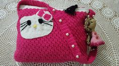 Hello kitty bag with pocket toy by Amber Aamir ♡