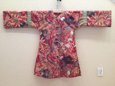 Chinese Jacket made from Folkwear pattern 114