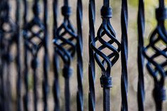 #barrier #fence #gate #railing #wrought iron