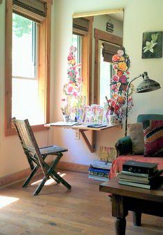A Teeny-Tiny Art Studio in Asheville — Favorite Room