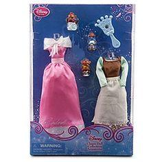 Cinderella Classic Doll Collection Accessory Set  -- 6-Pc.