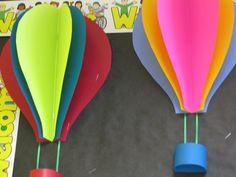 June - Hot Air Balloons