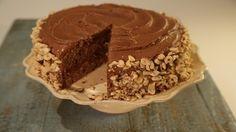 Easy Chocolate Hazelnut Cake - The Chew - Daphne Oz
