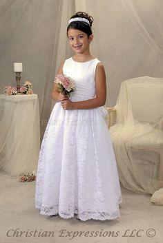 Faith First Communion Dress