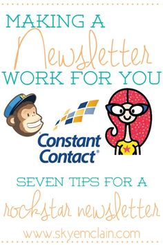 Seven Tips to connect with subscribers and make your newsletter stand out (these are content tips, not tutorial tips)