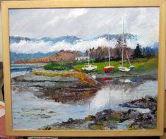 Screen Shot at Scottish Highlands, Dory, Screen Shot, Art Decor, Fine Art, Artist, Painting, Artists, Painting Art