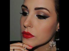 ▶ Maquiagem Glamour FÁCIL - YouTube