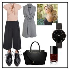 """""""Ootd minimalist"""" by camisotove on Polyvore featuring Jeffrey Campbell, Erdem, NLY Trend, Miss Selfridge, MICHAEL Michael Kors, I Love Ugly and Chanel"""
