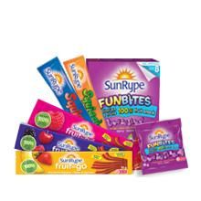 Love SunRipe products - Parent Tested, Parent Approved Products