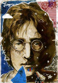 John Lennon #illustration