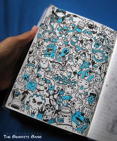 A Doodle A Day Keeps The Stress Away | Graffiti Gang Doodle by Lei Melendres