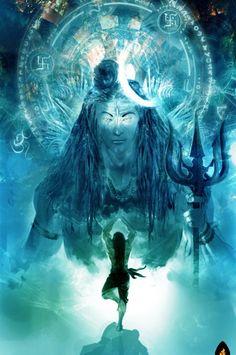 Ravana-Worshipping-Shiva.jpg (600×904)