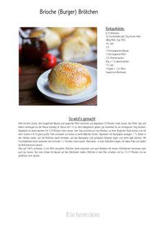Brioche Burger Broetchen - Brioche Burger Buns | Das Knusperstübchen