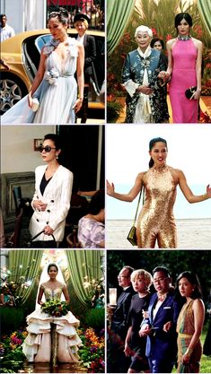 Fashion in Crazy Rich Asians Costume Design by Mary E. Asian Wedding Dress, Wedding Movies, Best Friend Wedding, Bridesmaid Dresses, Wedding Dresses, Blessed, Alternative Fashion, Costume Design, Asian Fashion