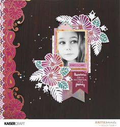You'll love creating inspirational creative crafts with the Bombay Sunset Collection 12 Kids Scrapbook, Scrapbook Albums, Scrapbooking Layouts, All Paper, Paper Art, Paper Crafts, Photo Memories, Creative Crafts, Crafty