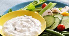 Yoghurtdip met verse kruiden