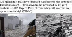 China Syndrome  at Fukushima