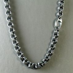 Custom Hand-Woven Men's Heavy Chain Link от DianaFergusonJewelry