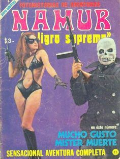 mucho gusto mister muerte Kitsch, Photo Comic, Grunge, Pulp Magazine, Magazine Covers, Homicide Detective, Drama, Vintage Horror, Cosplay