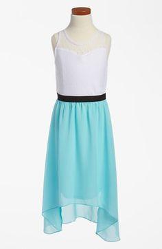 Ruby Rox Girls Dress, Girls Chiffon High-Low Dress - Kids Girls 7 ...