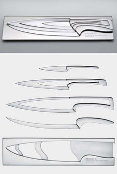 knives by { designvagabond }, via Flickr