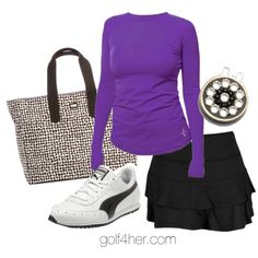 Ladies golf outfit