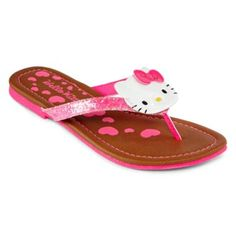 Hello Kitty sandal designed by Heather Lee Allen for JCPenney stores. To view more of my work, please visit https://www.behance.net/HeatherLeeAllen