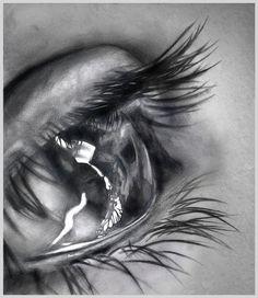 eyes eye pencil drawing art illustration realistic beautiful best