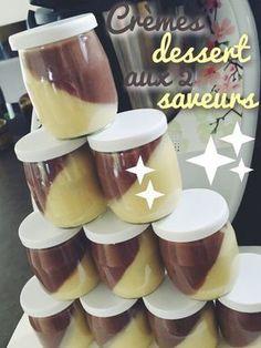 Crèmes dessert aux deux saveurs thermomix