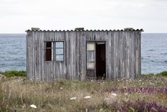 Wooden cottage nearPlaya de las Catedrales, Lugo, Spain. Submitted by Mariano Herranz.