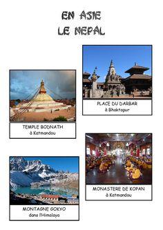 Imagier - Pays d'Asie le Népal