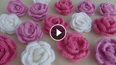 Flower stitch is one of the most vast type of stitch in the crochet world. But, this rose stitch crochet is one of the most beautiful I have ever seen. Crochet Flower Tutorial, Crochet Flower Patterns, Diy Crochet, Crochet Designs, Crochet Flowers, Crochet Star Stitch, Crochet Poppy, Crochet Hair Accessories, Hand Embroidery Flowers