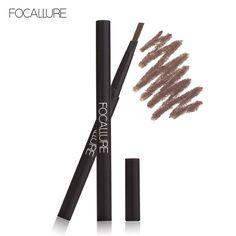 FOCALLURE Makeup Eyebrow Pencil Waterproof Long-lasting Eye Brow Pencil Beauty Makeup Cosmetics Eyebrow with Brush