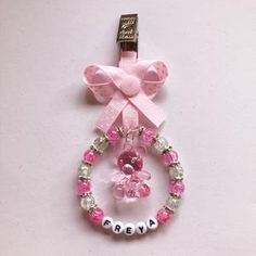 My Baby Girl, Baby Baby, Pram Charms, Baby Bracelet, Baby Jewelry, Gifts For My Sister, Acrylic Charms, Baby Center, Block Lettering