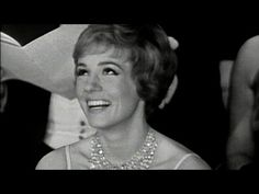 """Julie Andrews winning Best Actress for """"Mary Poppins"""" - YouTube This makes my heart happy :)"""