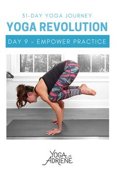 Your Day 9 yoga practice invites you to get fierce and feel fine! Get strong in a way that feels good. We go deeper. This strong practice gets the heart rate. Hard Workout, Pilates Workout, Yoga Fitness, Fitness Tips, Free Yoga Videos, 30 Day Yoga, Yoga With Adriene, Namaste Yoga, Health Tips For Women
