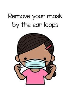 How to Wear a Mask Posters in French & English by Mademoiselle Ave Infection Control, Type Posters, Social Emotional Learning, Teacher Newsletter, Back To School, Masks, English, French, Teaching
