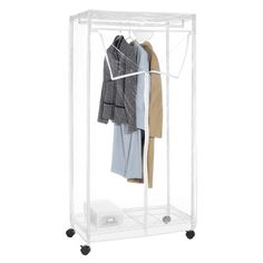 Portable And Expandable Garment Rack In Black Chrome 18 Months Product Image For Dual Bar Adjustable Garment Rack 2 Out Of 2