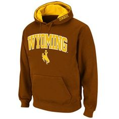 Colosseum Wyoming Cowboys Fleece Hoodie - Men For Caeleb