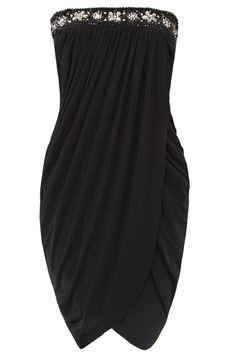 WOMEN'S DRAPED GRECIAN MINI SPLIT DRESS, BLACK COLOUR, SM SIZE. NBWT. RRP£ 20 #CITYGODDESS #WrapDress #AnyOccasion
