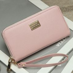 $4.57 (Buy here: alitems.com/... ) New Fashion2016 Fashion Women Wallet Leather Wallet Long Ladies Clutch Coin Purse Casual Handbag Carteira Feminina #N1V2 for just $4.57